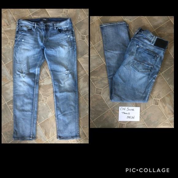 Men's Silver Taavi Jeans